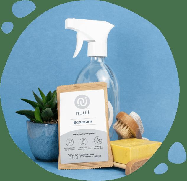 Miljøvenlig rengøringsprodukt